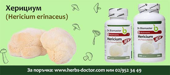 Херициум 30% полизахариди