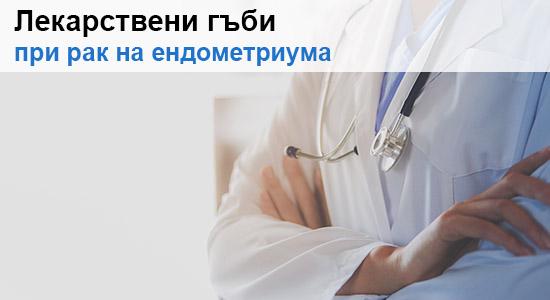 Лекарствени гъби при рак на ендометриума